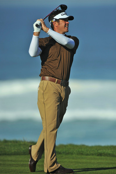 08 February 2008: Eric Axley at the Spyglass Hill Golf Course during the third round of the AT&T Pebble Beach National Pro-Am Golf Tournament in Pebble Beach, CA.