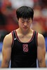 19 April 2008:  Stanford's Sho Nakamori during the 2008 NCAA Men's Gymnastics Championships at Maples Pavilion in Stanford, CA.