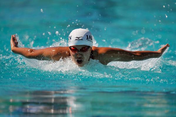 18 May 2008: Izumi Kato during the during the XLI Santa Clara International Invitational Women's 200 meter IM preliminaries at the Santa Clara Swim Club in Santa Clara, CA.
