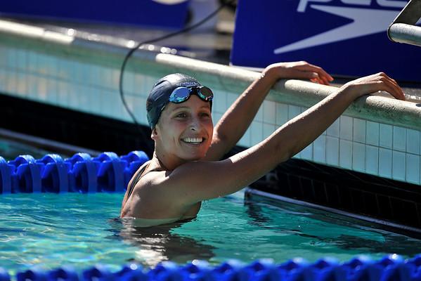 18 May 2008: Kim Vandenberg during the during the XLI Santa Clara International Invitational Women's 200 meter butterfly preliminaries at the Santa Clara Swim Club in Santa Clara, CA.  Vandenberg set a new meet record during the preliminary heat with a time of 2:08.36.
