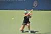 16 July 2008:  Shahar Peer of Israel during her 3-6, 4-6 loss to Anna Chakvetadze of Russia in their second round singles match at the Bank of the West Classic in Stanford, CA.
