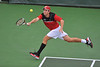 01 February 2008: Ted Kelly during Stanford's 5-2 loss to No. 9 ranked UCLA at the Taube Tennis Stadium in Stanford, CA.