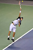 20 February 2008: Kei Nishikori of Japan during his first round win against Diego Hartfield of Argentina in the SAP Open at the HP Pavilion in San Jose, CA.
