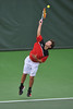 01 February 2008: Alex Clayton during Stanford's 5-2 loss to No. 9 ranked UCLA at the Taube Tennis Stadium in Stanford, CA.