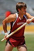 25 April 2008: Stanford's Casey Roche during the Brutus Hamilton Invitational at Edwards Stadium / Goldman Field in Berkeley, CA.  Roche placed sixth in the Men's Pole Vault A Section clearing 4.90 meters.
