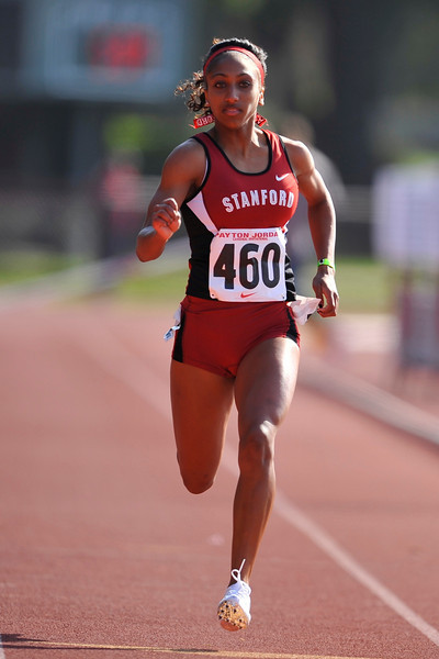 04 May 2008: Stanford's Ashley Menzies during the Payton Jordan Cardinal Invitational at the Cobb Track and Angell Field in Stanford, CA.