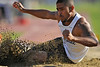 08 March 2008:  Long jump during the Benny Brown Invitational Track and Field Meet at Mt. San Antonio College, in Walnut, CA.