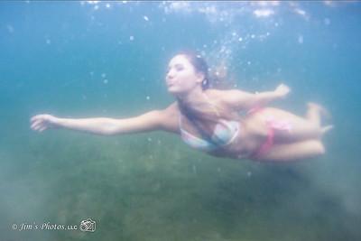Ind - Alexis B Underwater - August 25, 2015