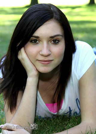 Senor Class Photos Casey Patterson - 2012