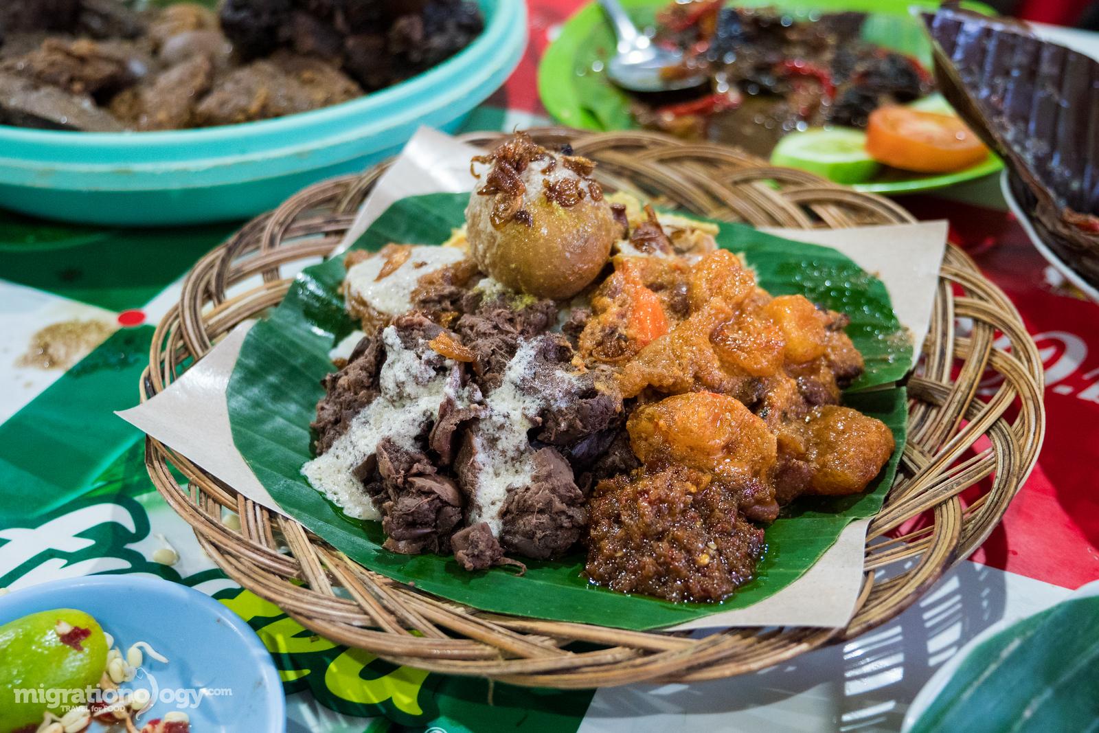 Indonesian gudeg