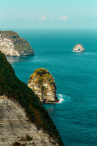 dream Bali coastline at Nusa penida