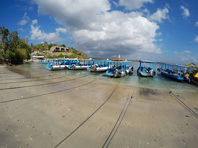 Catamaran on nusa penida beach, Bali Indonesia