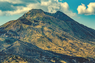Mount Batur-One of the famous volcanos, Indonesia