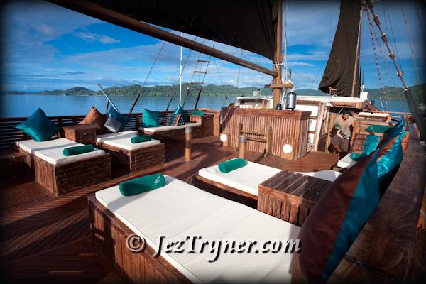 Relaxtion area, Arenui, Raja Ampat, Indonesia, Indian ocean, Asia