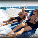 Sundeck, Mermaid 1, Satonda island, Sumbawa, Java sea, Indian Ocean, Indonesia, Asia
