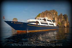 Mermaid2, Bida islands, Koh Phi Phi, Andaman sea, Indian Ocean, Thailand, Asia
