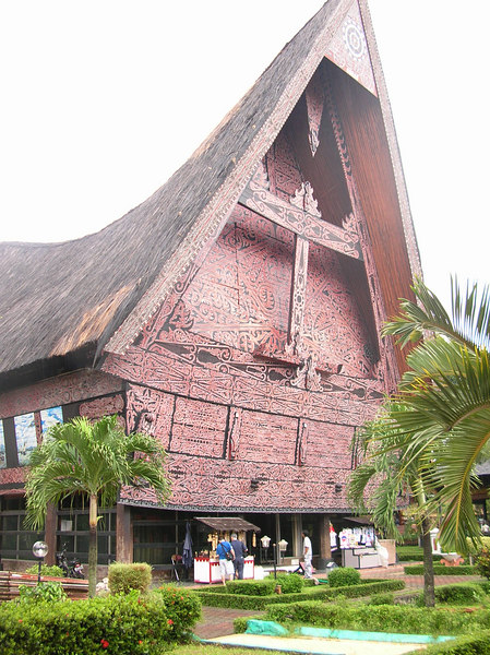 Traditional house of .... Aceh?