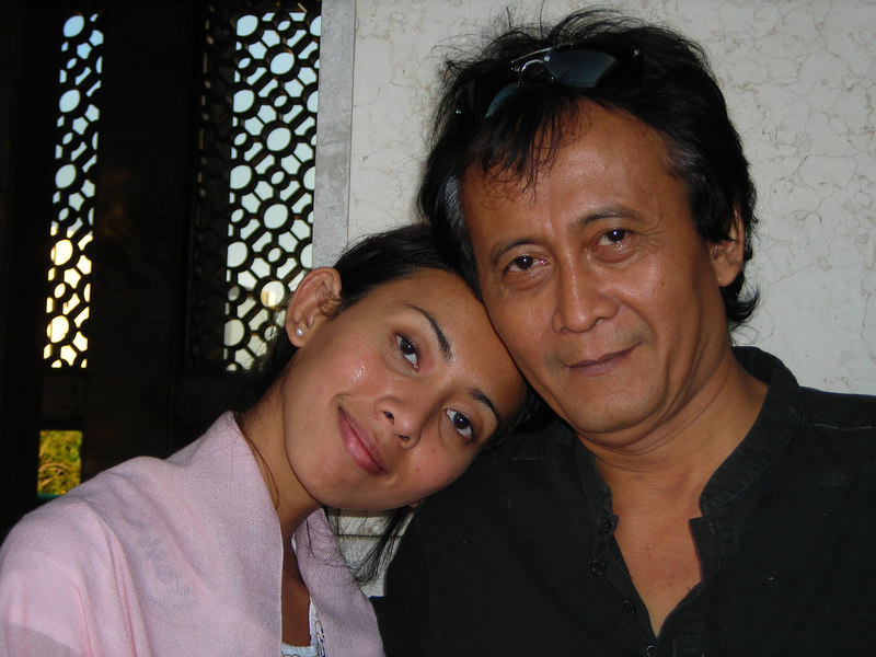 Lavina and her Dad