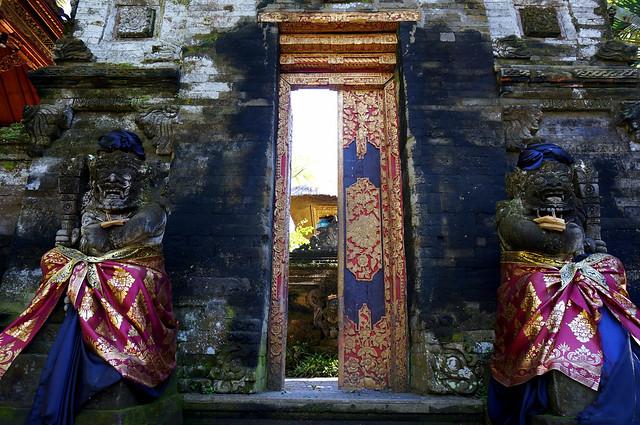 A doorway in Ubud, Bali.