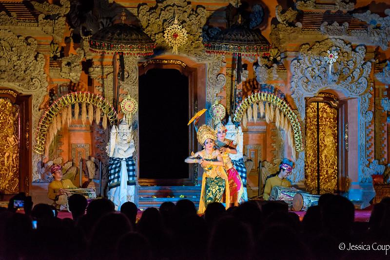 Dancing at Ubud Palace