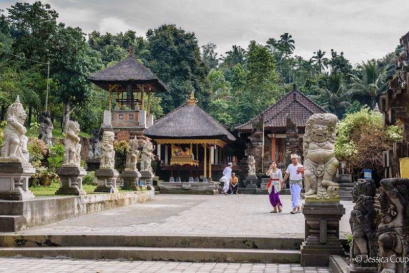 Complex at Tirta Empul Temple
