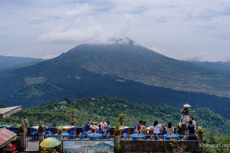 Lunch at the Volcano