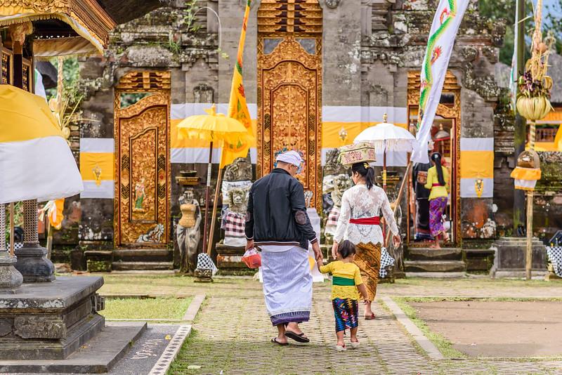 Entrance to the Pura Ulun Danu Bratan Temple