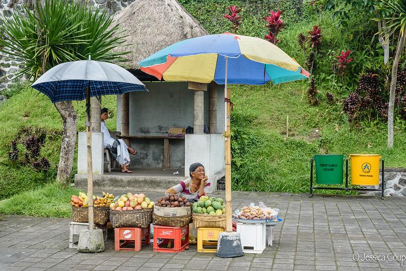 Smiling Vendor