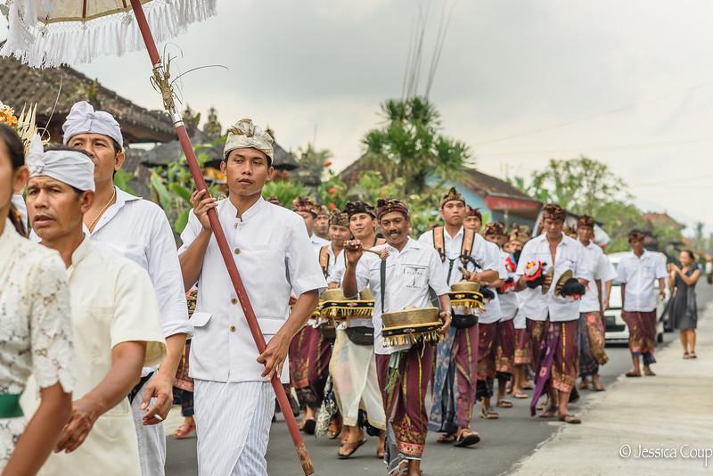 Ceremony to Temple