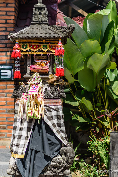 Shrine Decorated for Galungan