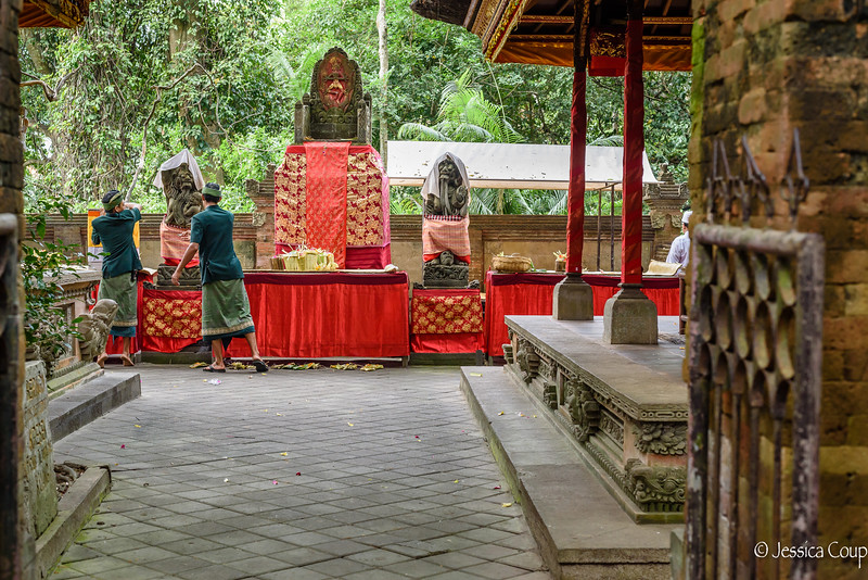 Cremation Temple at Monkey Forest
