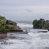 Tanah Lot Visitors Gathered for Sunset