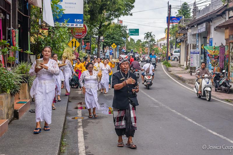 Ceremony Down the Street