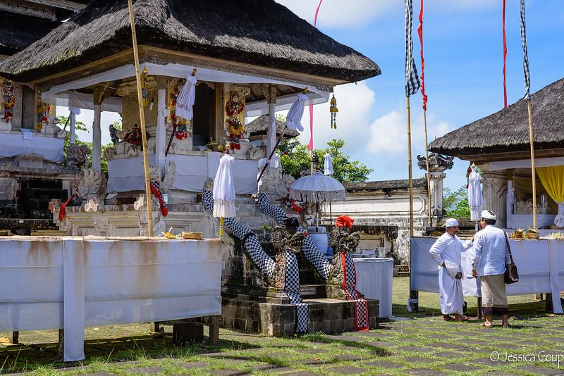 Holy Man at Pura Luhur Lempuyang Temple