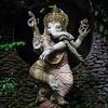 Half elephant, half human, a dancing Ganesh. Ubud.