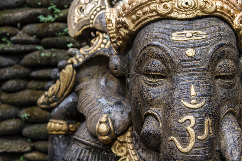 Ganesh, the Elephant God. Ubud.