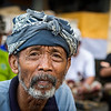 Village man on the journey to Ubud.