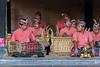 Musicians, Sahadewa Barong and Kris Dance, Ubud, Bali