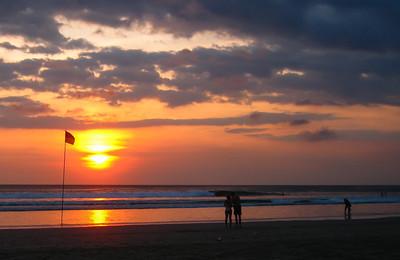 Kuta Beach Sunset — Bali, Indonesia
