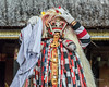 Rangda the demon queen character, Barong Calon Arang, Ubud, Bali