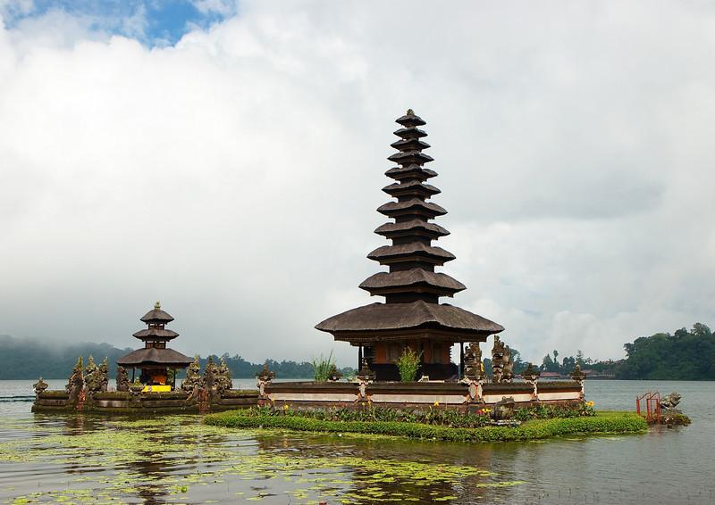 Lake Bratan temple, Bali, Indonesia