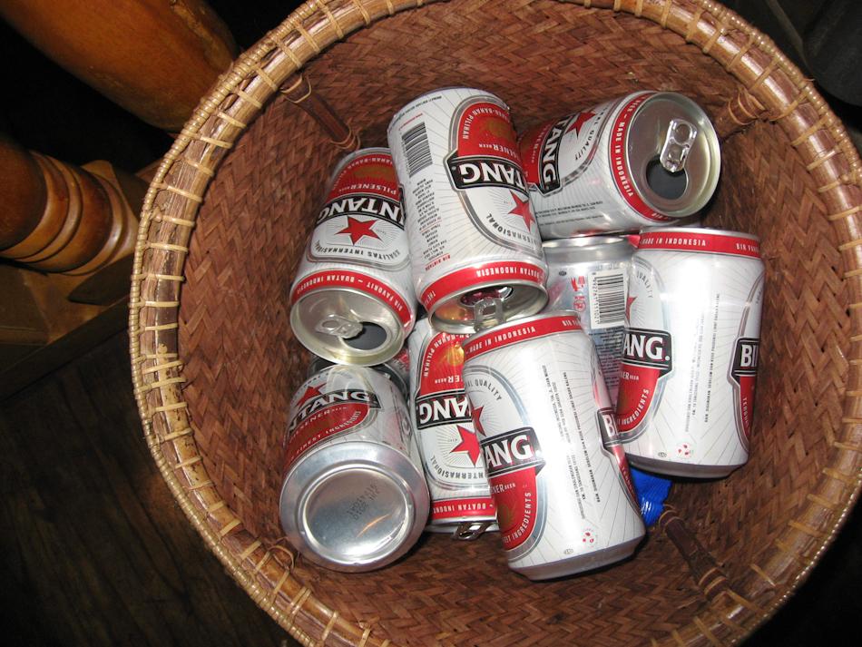 Bintang Beer Empties