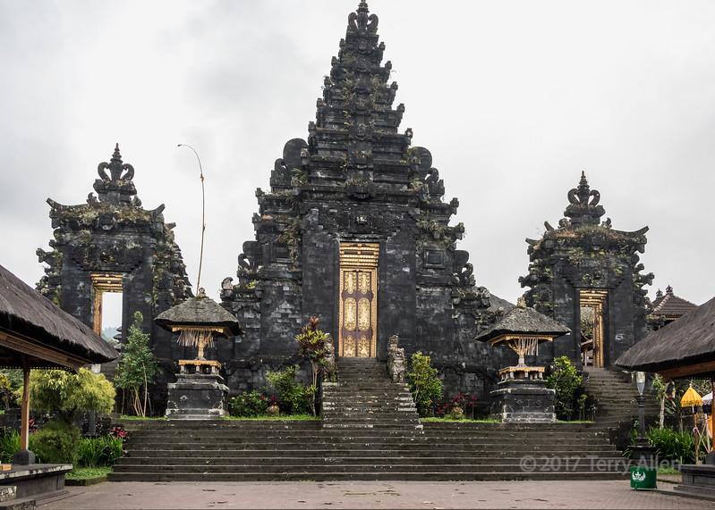 Ornate gateway
