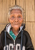 Portrait of an elderly Lio woman, Saga megalithic village, Detusoko, East Nusa Tenggara, Indonesia