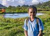 Portrait of an Indonesian schoolboy, Moni, East Nusa Tenggara, Indonesia