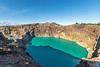 Tiwu Ata Polo crater lake (Enchanted Lake) in Kelimutu National Park, East Nusa Tenggara (Flores) Island, Indonesia