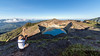 Overview of the Kelimutu crater lakes, Kelimutu National Park, East Nusa Tenggara, Indonesia