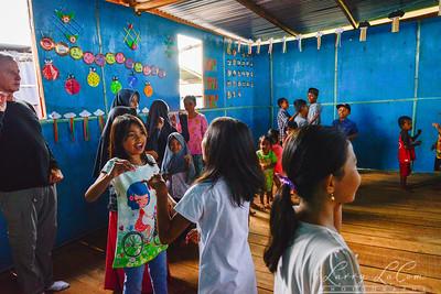 English camp for locak kids in Makassar