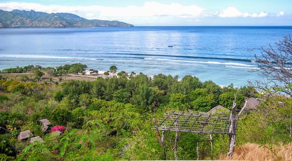 Hill top view — Gili Trawangan Island, Indonesia
