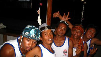 The guys at the Sunset Bar — Gili Trawangan Island, Indonesia